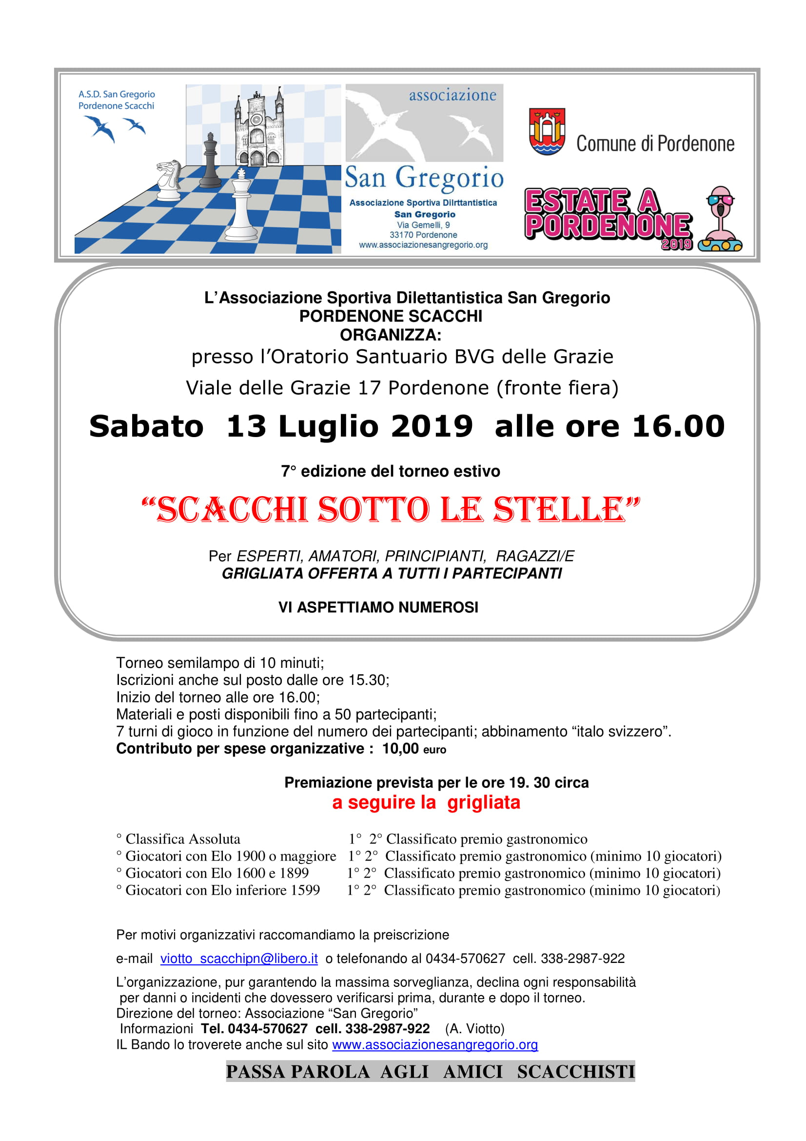 torneo sotto le stelle 2019